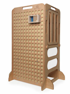 montessori mini box for kids on learning tower